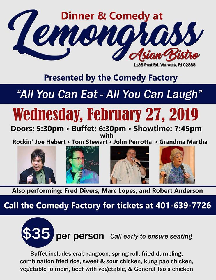 Lemongrass Dinner Comedy