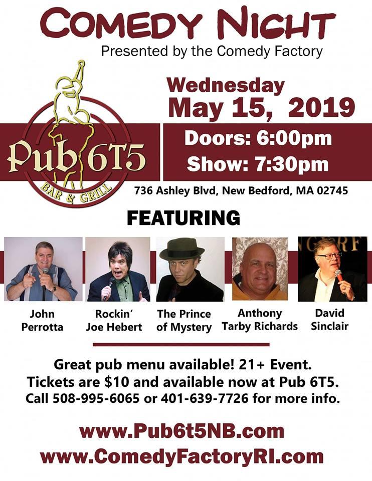 Pub 6T5 Comedy Show