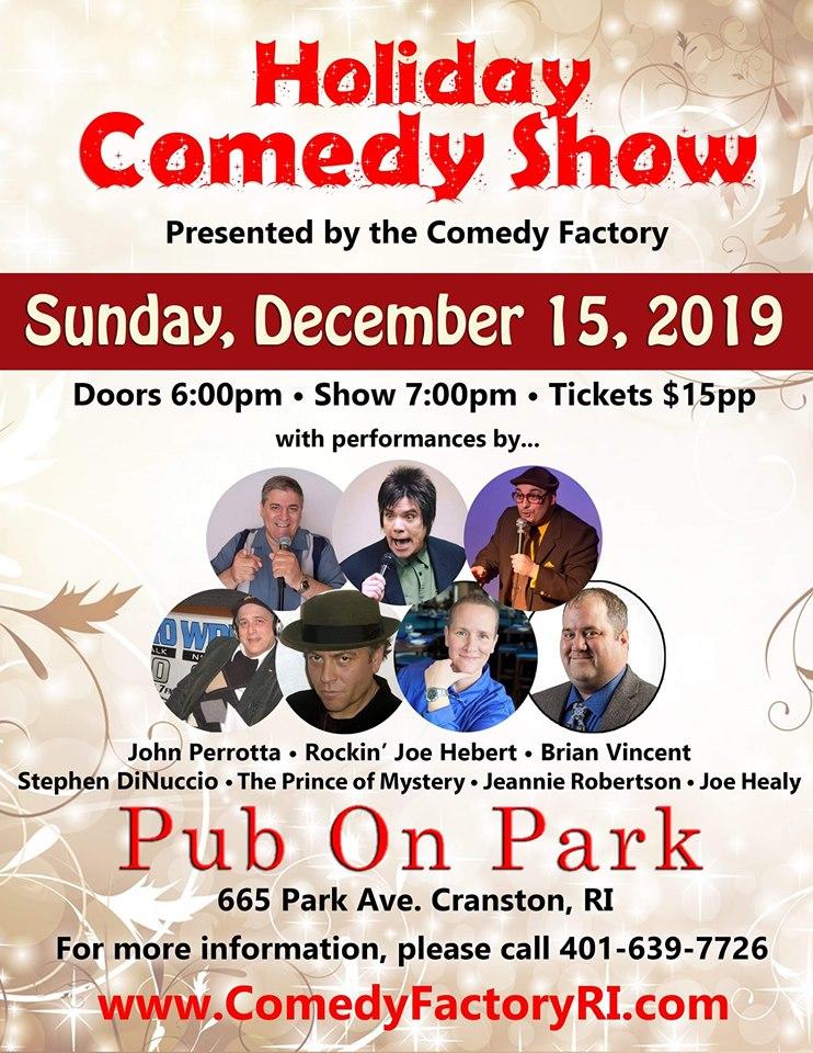 Comedy Christmas Show