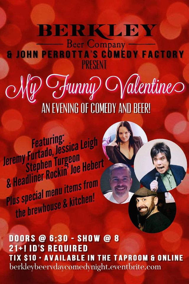 Berkley Beer Valentine's Comedy