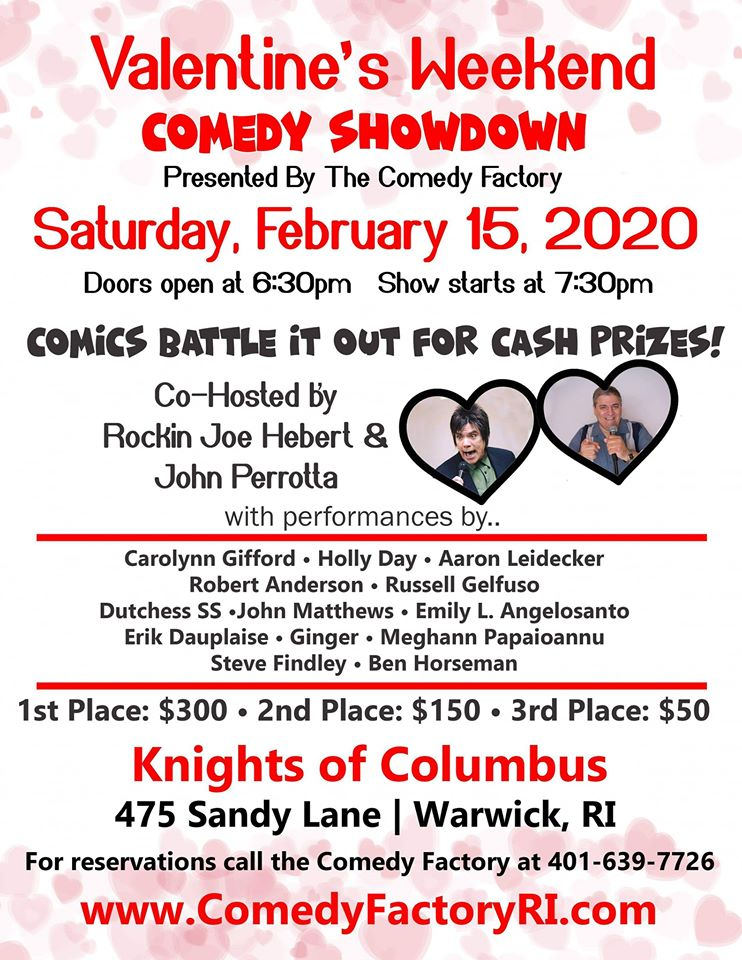 Valentine's Weekend Comedy Contest